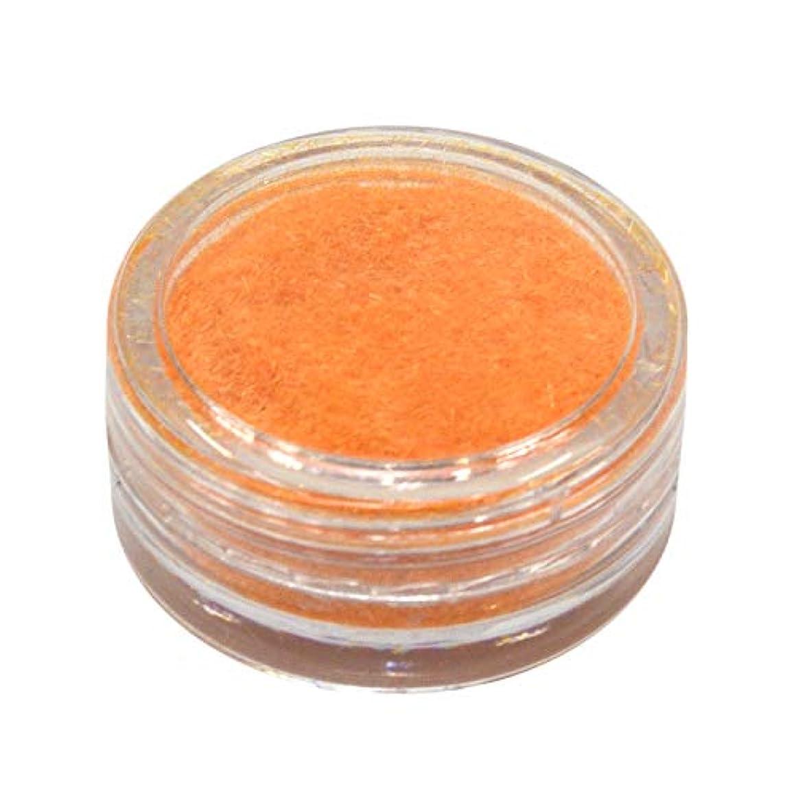 メルボルン干ばつ二層ネルパラ ベルベットパウダー #30 オレンジ