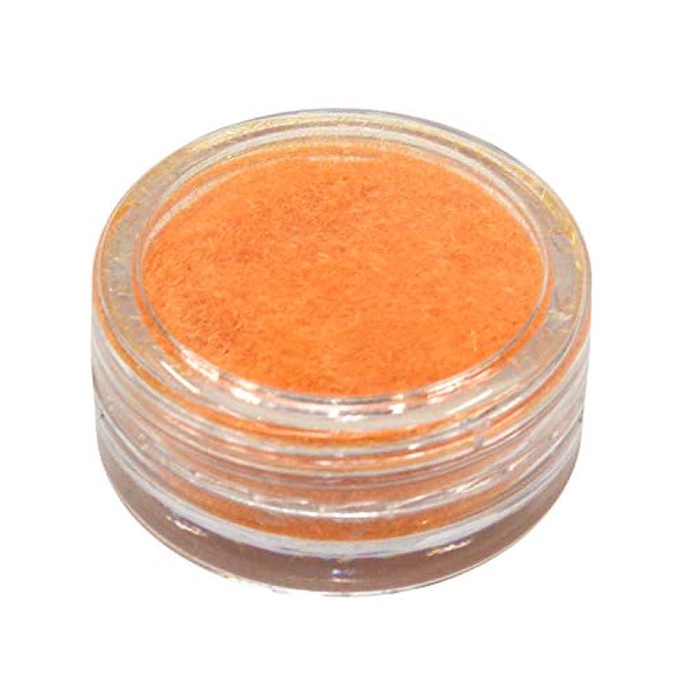洗うエンドテーブル書き出すネルパラ ベルベットパウダー #30 オレンジ