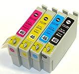 エプソン 【EPSON IC4CL46(プリンター用互換インク)】汎用インクカートリッジ 4色セット