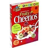 Cheerios チェリオス フル―ティーシリアル 340g×3箱  [海外直送品]