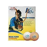 Kalmar ワンスター卓球、100、新素材トレーニングボール、40mm、黄色と白 Table Tennis Balls-Table Tennis Balls Balls (Color : Yellow)