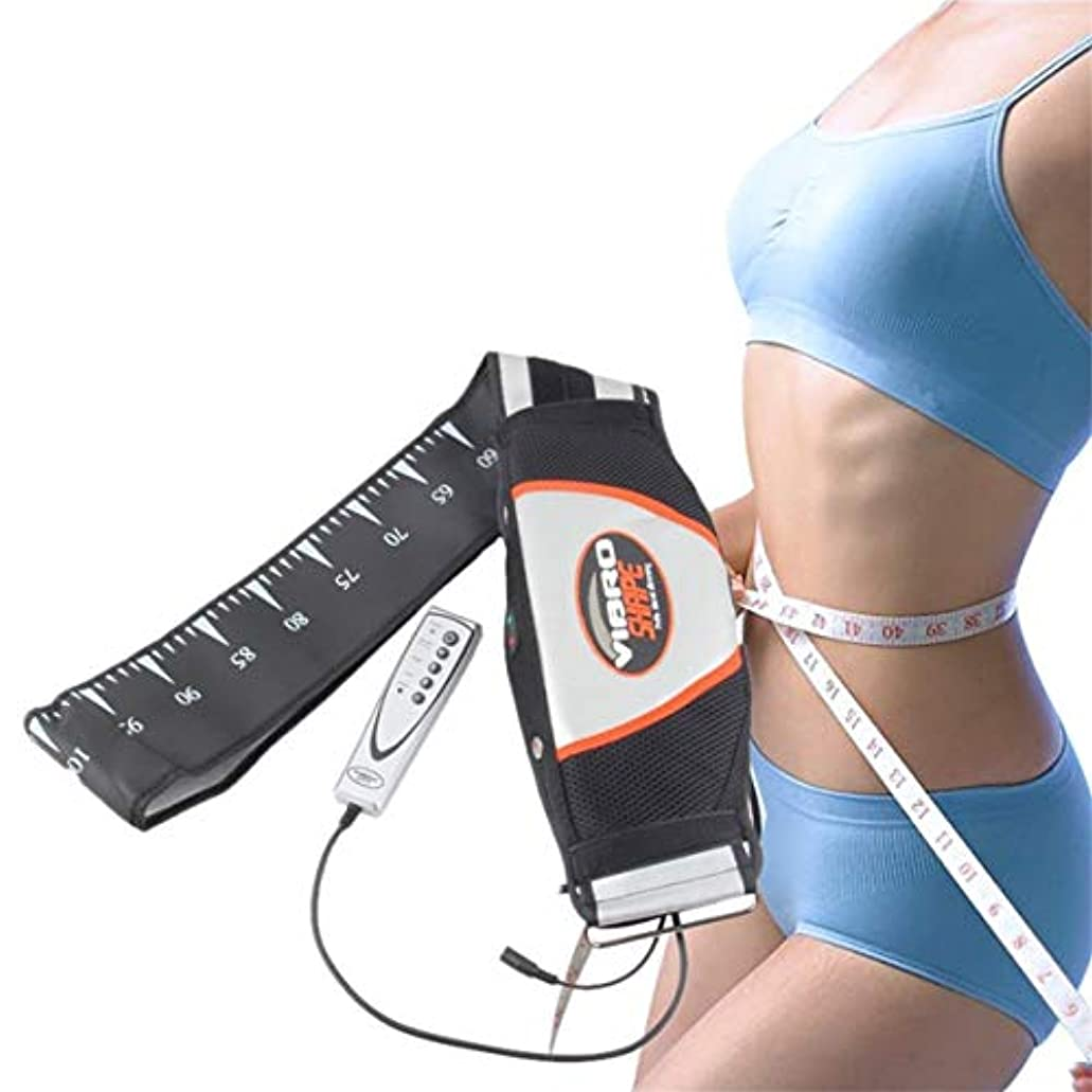 強力な電気振動痩身ベルト振動マッサージベルトリラックストーン振動脂肪燃焼重量を失う効果的に失う