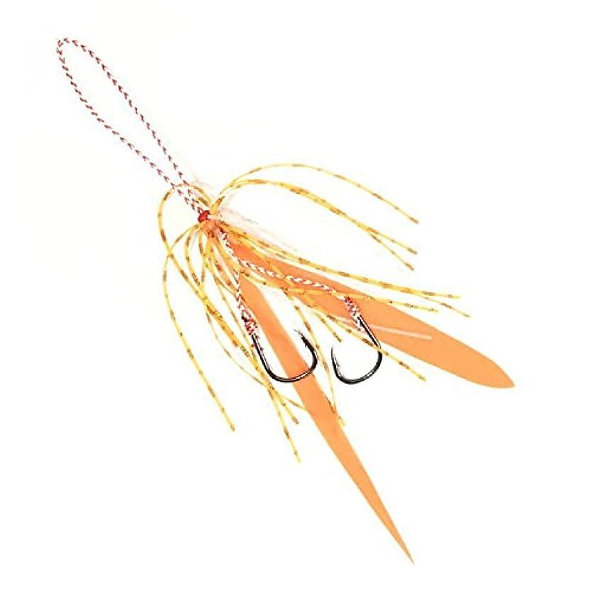 いじめっ子嘆願上昇MOREBITES(モアバイツ) ブリラバスペアラバーフック オレンジ ULU-046