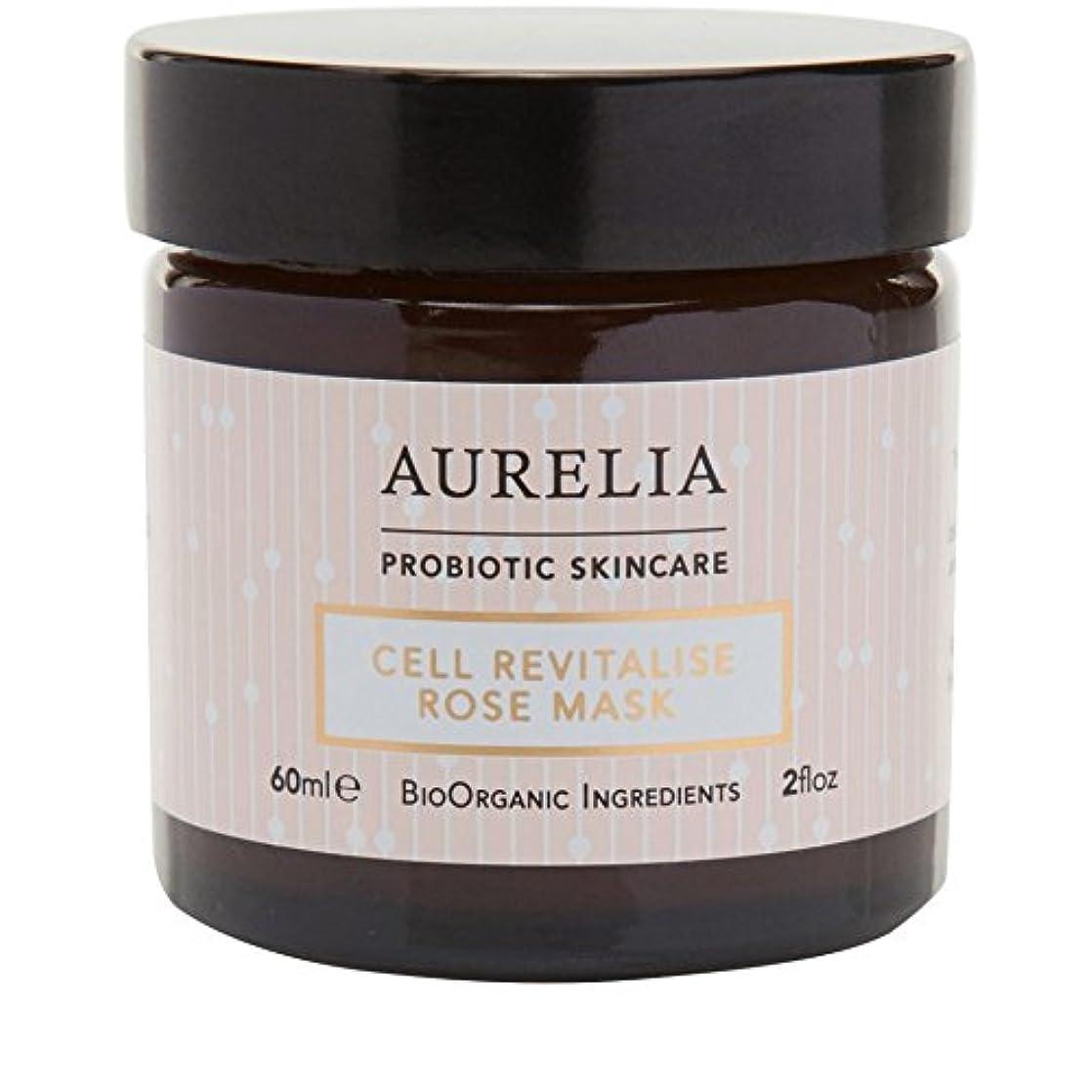 ハッピー拳スカウト[Aurelia Probiotic Skincare] アウレリアプロバイオティクススキンケア細胞の活力アップは、マスク60ミリリットルをバラ - Aurelia Probiotic Skincare Cell Revitalise...