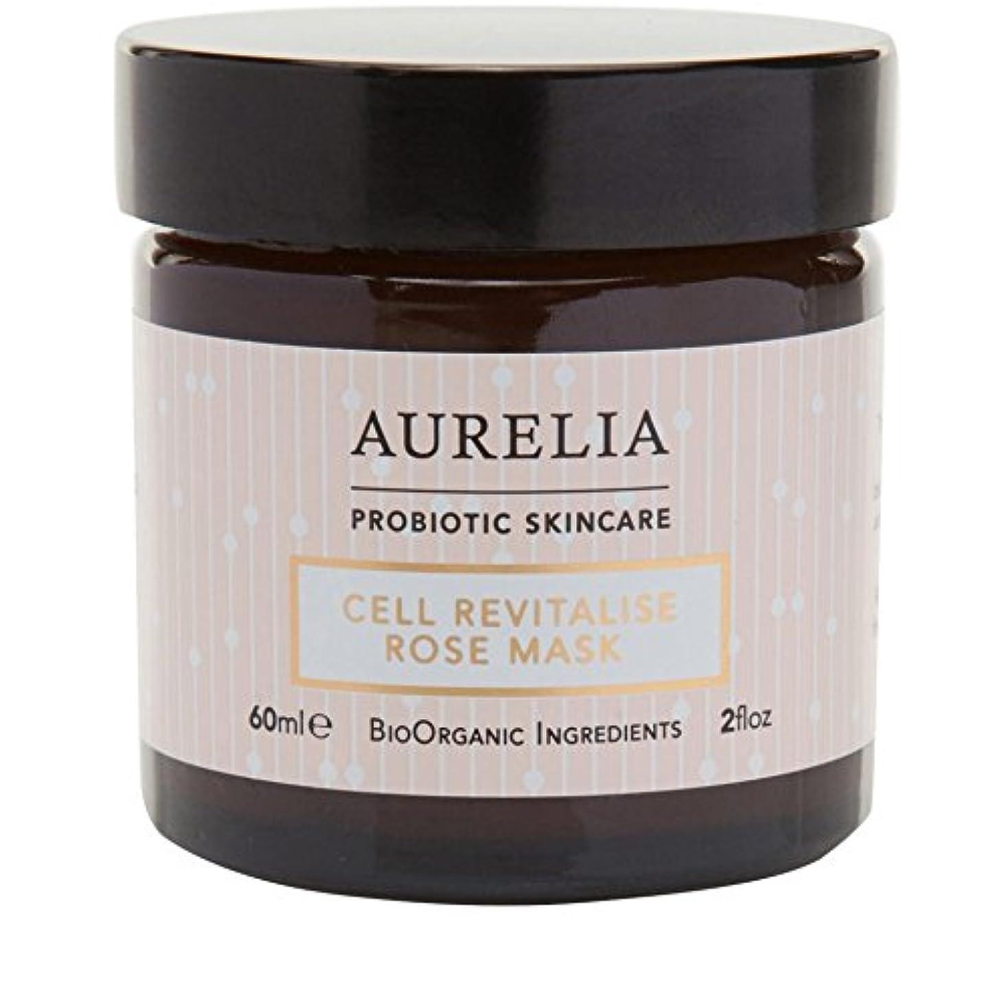 許可するグラフィック保証金[Aurelia Probiotic Skincare] アウレリアプロバイオティクススキンケア細胞の活力アップは、マスク60ミリリットルをバラ - Aurelia Probiotic Skincare Cell Revitalise...