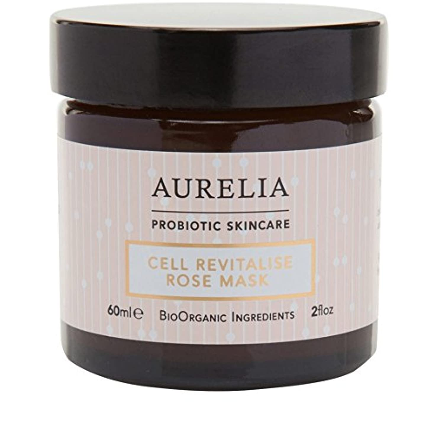 高度な情熱的南西[Aurelia Probiotic Skincare] アウレリアプロバイオティクススキンケア細胞の活力アップは、マスク60ミリリットルをバラ - Aurelia Probiotic Skincare Cell Revitalise Rose Mask 60ml [並行輸入品]
