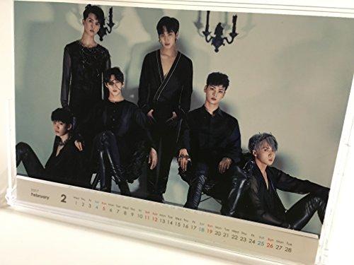 VIXX 2017年 卓上カレンダー 日本祝祭日仕様 ( 韓メディアSHOP購入特典付 )