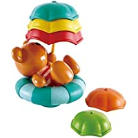 Hape Kids Little Splashers Teddy's Umbrella Stackers Bath Toy [並行輸入品]