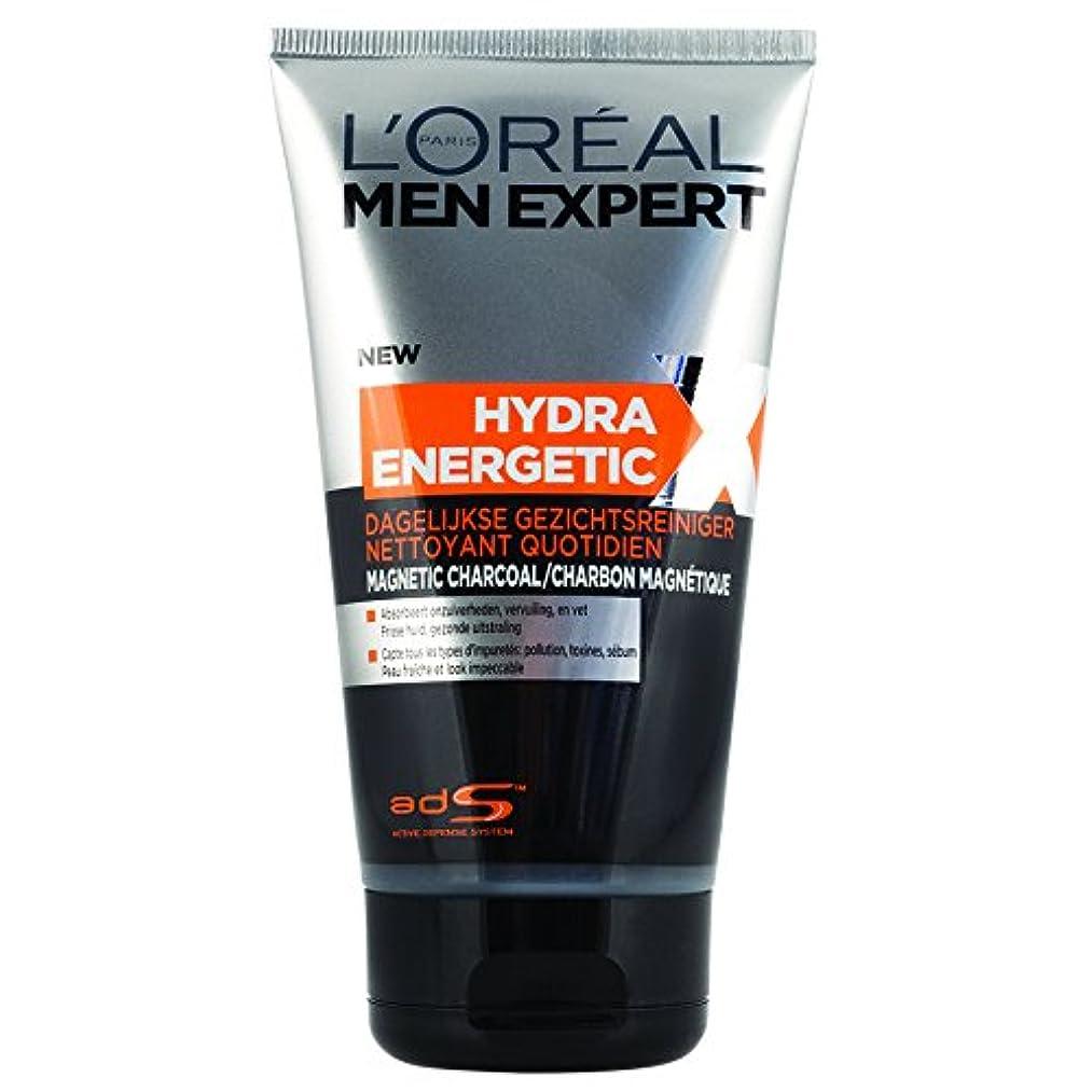 振り子これらセンチメートルロレアル Men Expert Hydra Energetic X Daily Purifying Wash 150ml/5oz並行輸入品