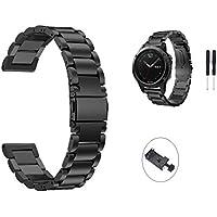 TenCloud Fenix 5X Band 26mm Easy Fit,Replacecement Link Bracelet Milanese Loop for Garmin Fenix 5X,5X Plus/Fenix 3/D2 Bravo/tactix Bravo Watch[NOT for Fenix 5S&Fenix 5]