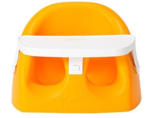 カリブ ベビーチェア 3ヶ月~14ヶ月 ソフトチェアー トレイセット 赤ちゃん イス ベビーソファ PM3386 Karibu Seat with plastic Tray [並行輸入品]