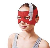フェイスリフトマスク、回復ポスト包帯ヘッドギアフェイスマスクフェイス薄いフェイスマスクアーティファクト美容ベルトフェイスとネックリフトフェイス円周57-68センチ