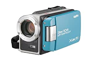 SANYO 防水デジタルムービーカメラ 水のXacti (ザクティ) DMX-WH1E(L)