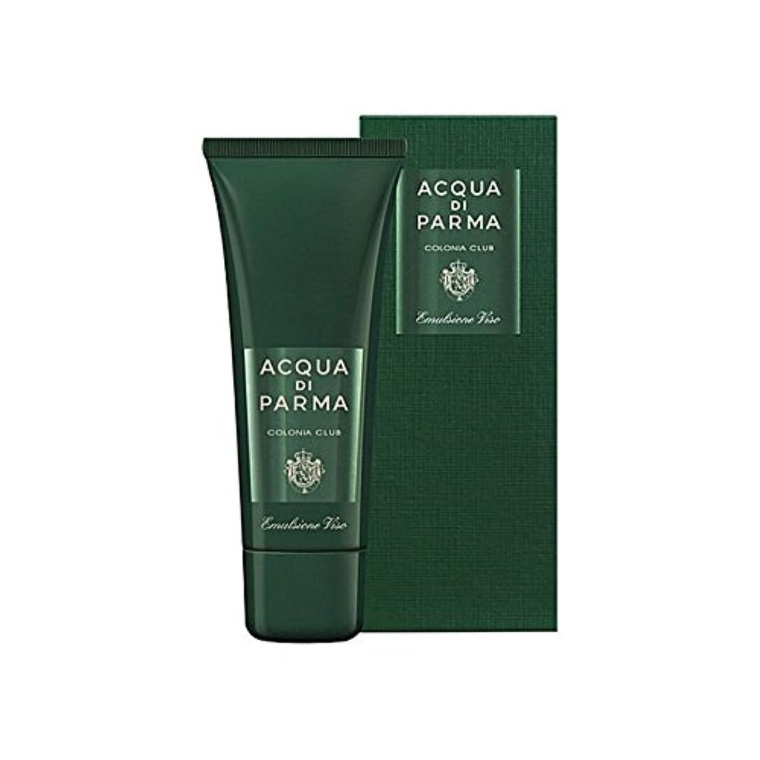 うぬぼれ振幅ナサニエル区Acqua Di Parma Colonia Club Face Emulsion 75ml (Pack of 6) - アクアディパルマコロニアクラブフェースエマルジョン75ミリリットル x6 [並行輸入品]