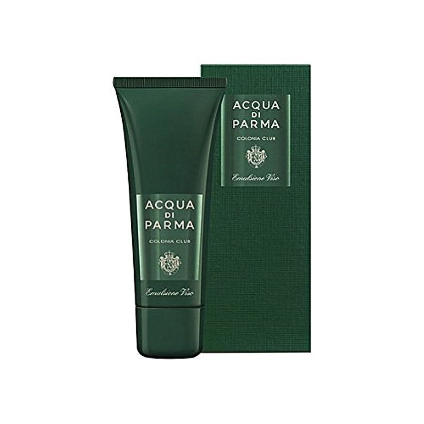 掃く光電言及するAcqua Di Parma Colonia Club Face Emulsion 75ml (Pack of 6) - アクアディパルマコロニアクラブフェースエマルジョン75ミリリットル x6 [並行輸入品]
