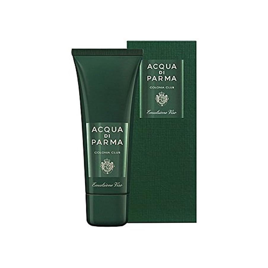 ピジンずらすマットアクアディパルマコロニアクラブフェースエマルジョン75ミリリットル x4 - Acqua Di Parma Colonia Club Face Emulsion 75ml (Pack of 4) [並行輸入品]