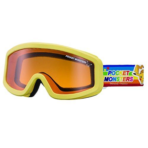 SWANS(スワンズ) 子供用 スキー スノーボード ゴーグル 3歳?10歳 ポケットモンスター PK-101H Y イエロー