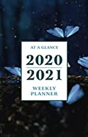 "At a Glance 2020-2021 Weekly Planner: Nighttime Butterflies 2 Year / 24 Month Pocket Planner for Purse - Jan 2020 - Dec 2021 Calendar | Size: 5.5"" x 8.5"""
