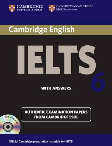 Cambridge Ielts 6 Self-study Pack: Examination Papers from University of Cambridge Esol Examinations: English for Speakers of Other Languages with 2 Audio CDs (IELTS Practice Tests)の詳細を見る
