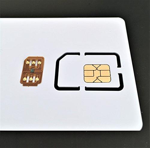 iNTE-E Direct アマゾン限定・即日出荷 sim ロック解除アダプタ + アクティベーションカード softbank ソフトバンク <iPhone6S /6S Plus /6/ 6 Plus/5S/5C sim ロック解除アダプタ iOS 9 対応 SIM Unlock アンロック SIMフリー 解除アダプター>  IPC 変換アダプタ4点セット付き iNTE-4128k-sb