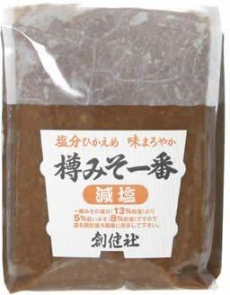 創健社 樽みそ一番 減塩 1kg ×4セット