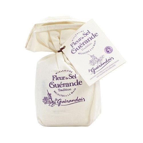 ゲランドの塩/ 一番塩/ フルール・ド・セル(細粒)/Sel de Guerande Fluer de sel 【スモールサイズ/125g】/スパイス・ハーブ・香辛料・調味料