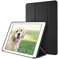 DTTO iPad Mini4 ケース 超薄型 超軽量 生涯保証 TPU ソフト PUレザー スマートカバー 三つ折り スタンド スマートキーボード対応 キズ防止 指紋防止 [オート スリープ/スリープ解除] ブラック