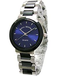 [ロイヤルモントレス]ROYAL MONTRES 腕時計 12面カットガラス ブルー RM-201706-M-BL メンズ