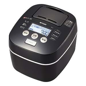 タイガー 土鍋圧力IH炊飯ジャー(8合炊き) ブラックTIGER 炊きたて JKX-V152-K