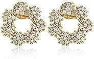[ナオットジュエリー] ジルコニア バブルサークル ピアス [ギフトBOX付き] レディース スタッドピアス Bubble Circle Pierce naotjewelry (直径1.2cm)