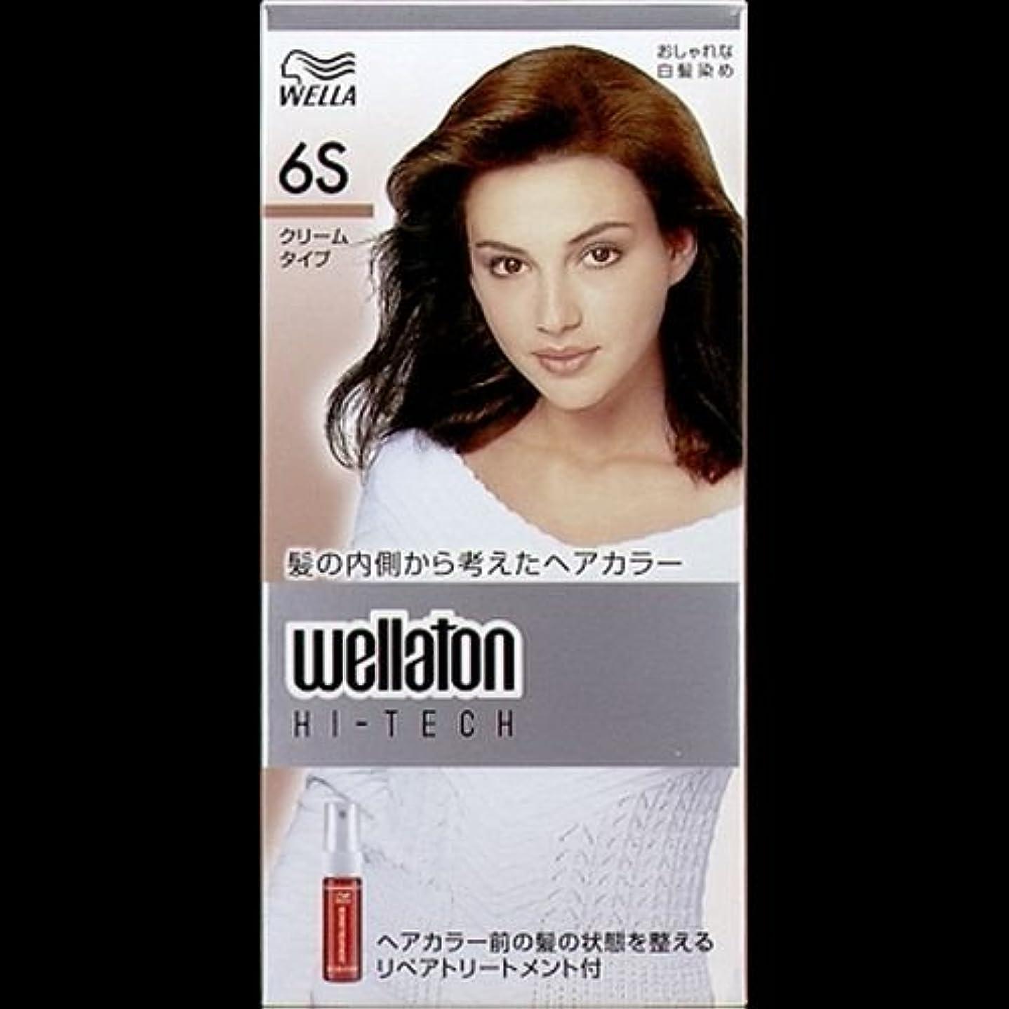 一晩くぼみスノーケル【まとめ買い】ウエラトーン ハイテッククリーム 6S ×2セット