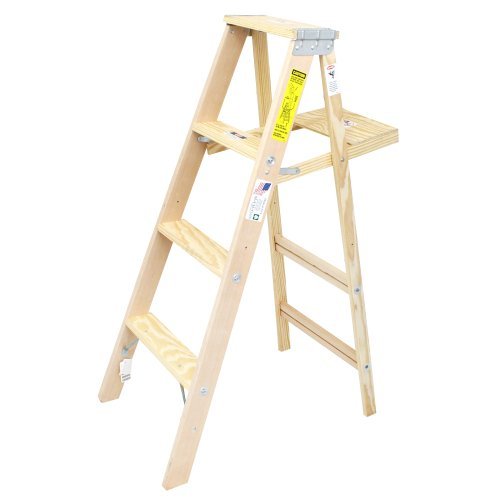 RoomClip商品情報 - ウッドステップラダー WOOD STEP LADDER size4 脚立