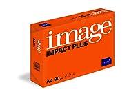 500枚の画像インパクトプラスプレミアムホワイト90gsm A4連