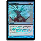 Magic: the Gathering - Mind's Desire - Judge Rewards Foil - Judge Promos - Foil by Wizards of the Coast [並行輸入品]