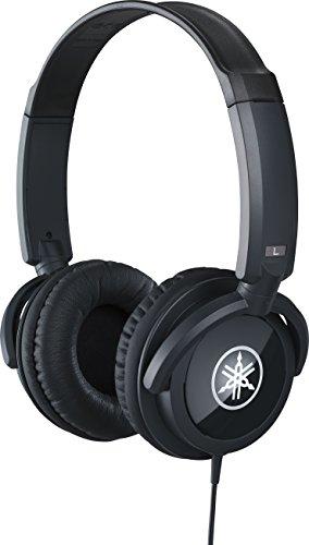 ヤマハ YAMAHA ヘッドホン ブラック HPH-100B 迫力あるサウンドとリッチな音色 長時間の使用でも疲れにくい快適な装着感を実現 変換ステレオプラグ付属