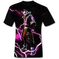 男のファション Tシャツ Fortnite フォートナイト バトル 面白い図案デザイン 夏のプレゼント 100% なポリエステル