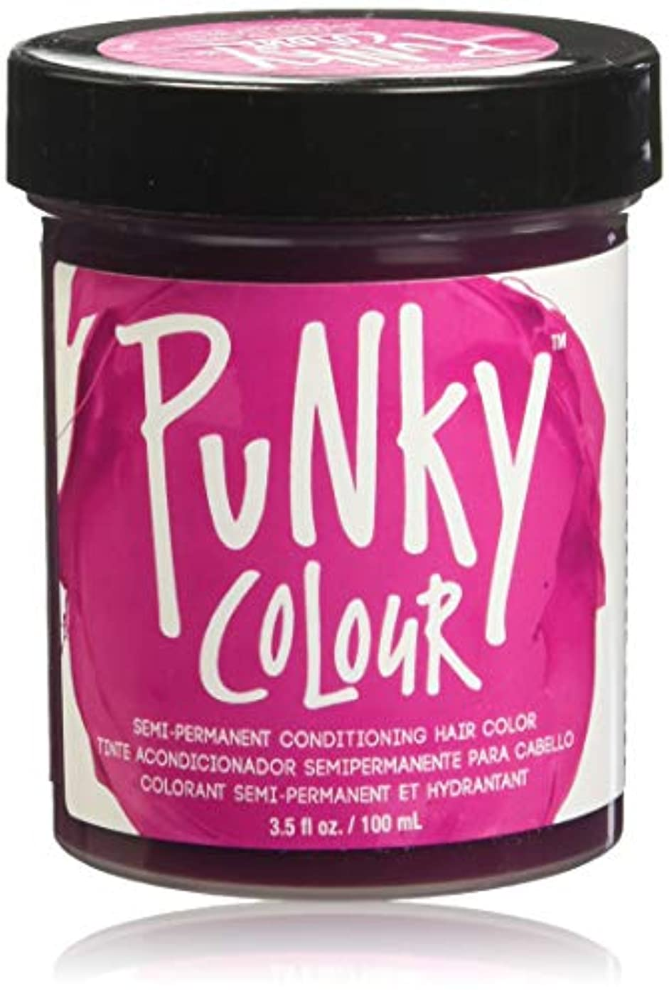 JEROME RUSSELL Punky Color Semi-Permanent Conditioning Hair Color - Flamingo Pink (並行輸入品)