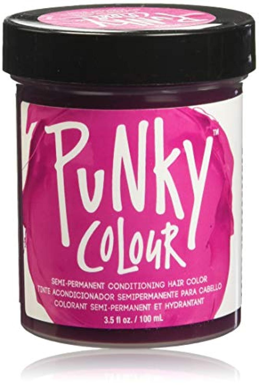 追い越す周波数一元化するJEROME RUSSELL Punky Color Semi-Permanent Conditioning Hair Color - Flamingo Pink (並行輸入品)