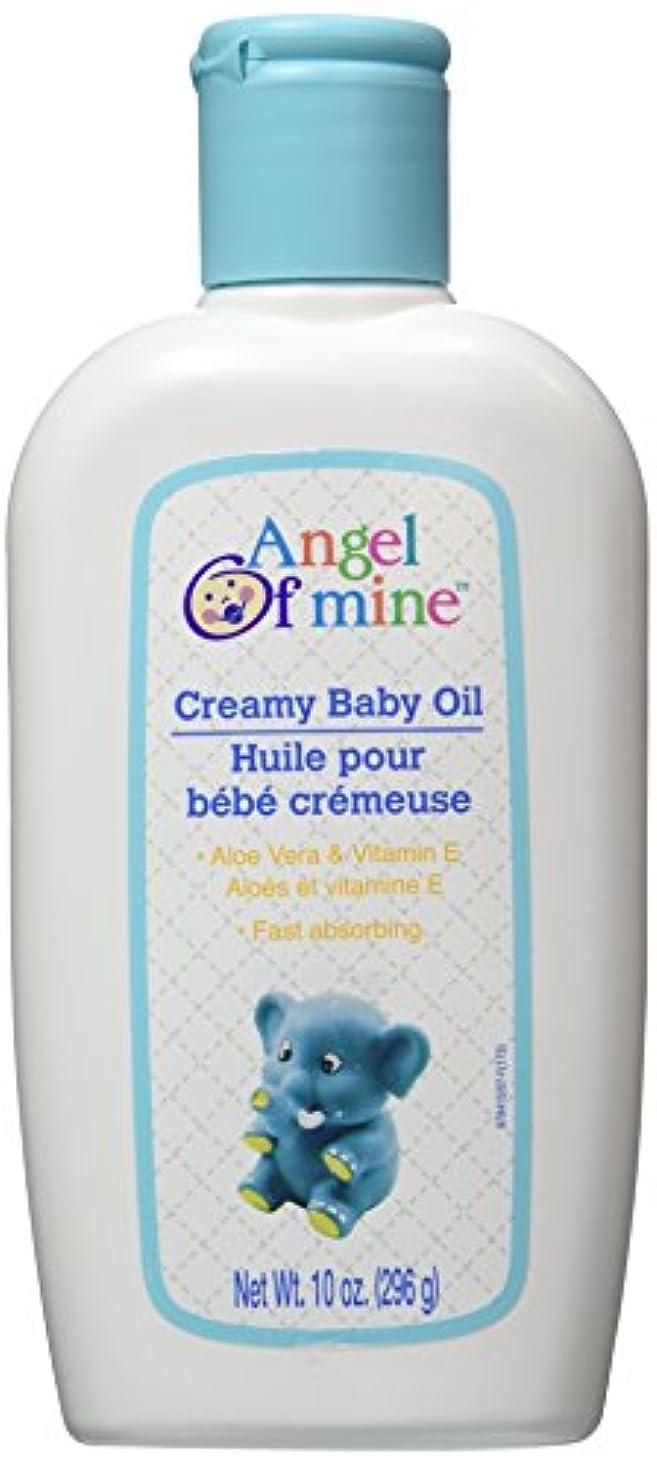 夕暮れ木製オーガニックCreamy Baby Oil with Aloe Vera & Vitamin E - 10 oz,(Angel of Mine) by Judastice