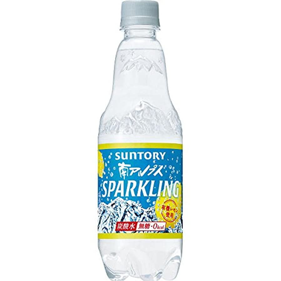 効率思い出す生態学サントリー 南アルプス スパークリングレモン 炭酸水 無糖0cal 500ml×15本