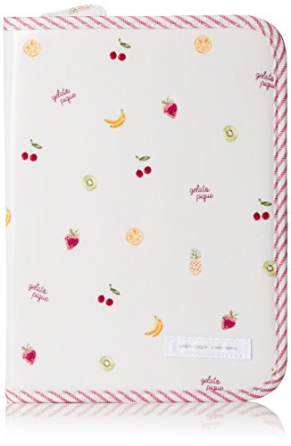 [ジェラート ピケ]フルーツ母子手帳ケース PNK