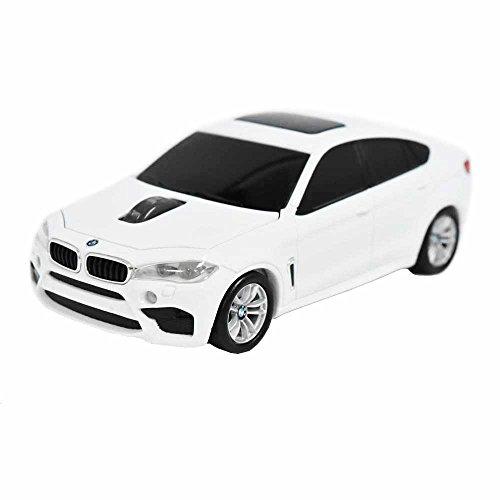 BMW X6 Mシリーズ SUV BM-X6M-WH (ホワイト) 無線カーマウス 2.4Ghz 1750dpi