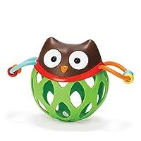 YChoice 可愛い赤ちゃんのおもちゃ ギフト 子供 教育的 フクロウ 手カラフル感覚ボール キッズ 面白いボール おもちゃ ギフト
