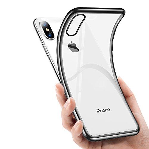 TORRAS iPhone x ケース アイフォンxケース【高品質TPU /クリア/超薄型/メッキで...