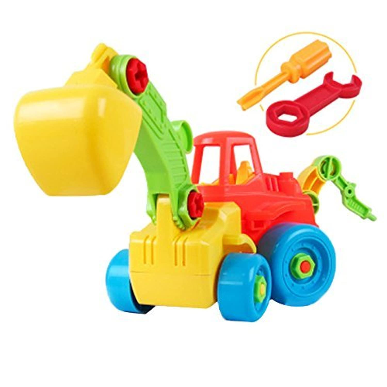 Linshop ファンシーを分解するトラックのおもちゃ赤ちゃんリムーバブル?アセンブリのネジのおもちゃの1~3歳まで