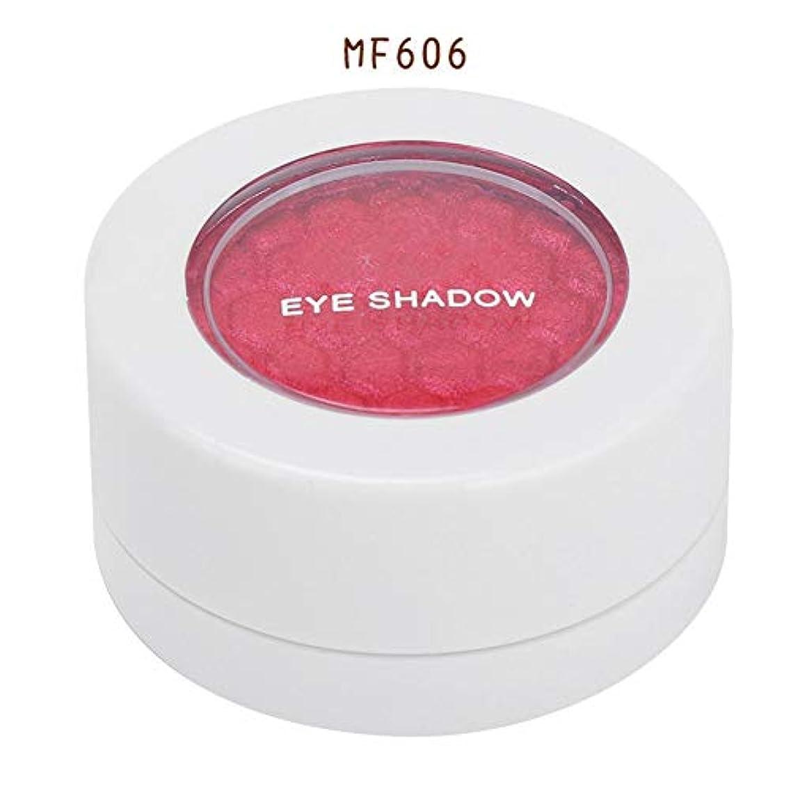精査するめったにメガロポリス4色 アイシャドウパレット アイシャドウパレット 化粧品ツール 化粧マットグロス アイシャドウパウダー (MF606)