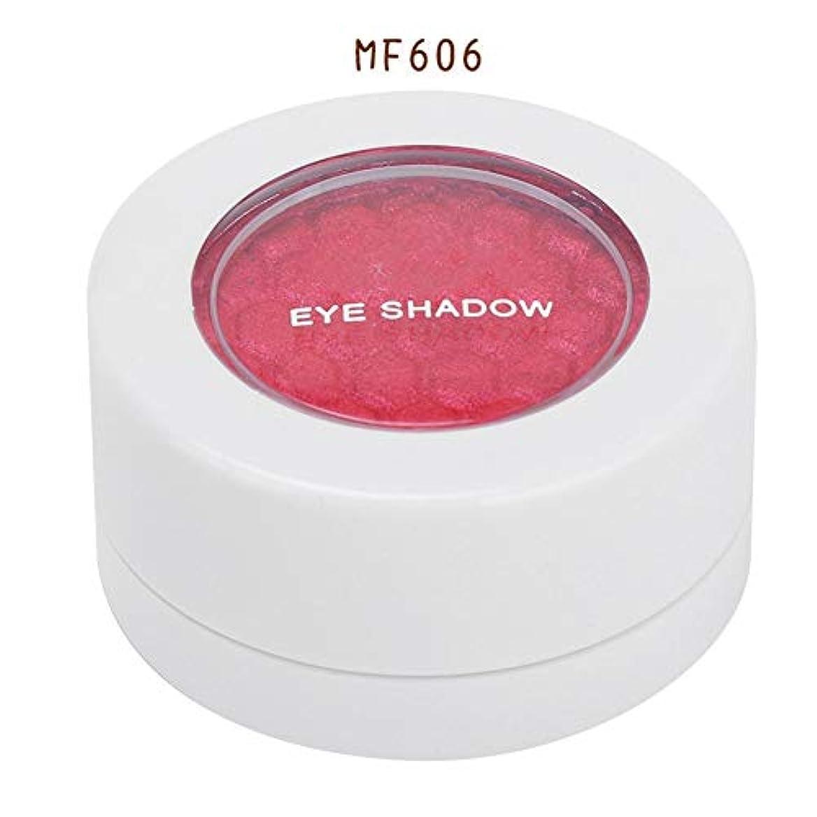ぼろリスキーな維持4色 アイシャドウパレット アイシャドウパレット 化粧品ツール 化粧マットグロス アイシャドウパウダー (MF606)
