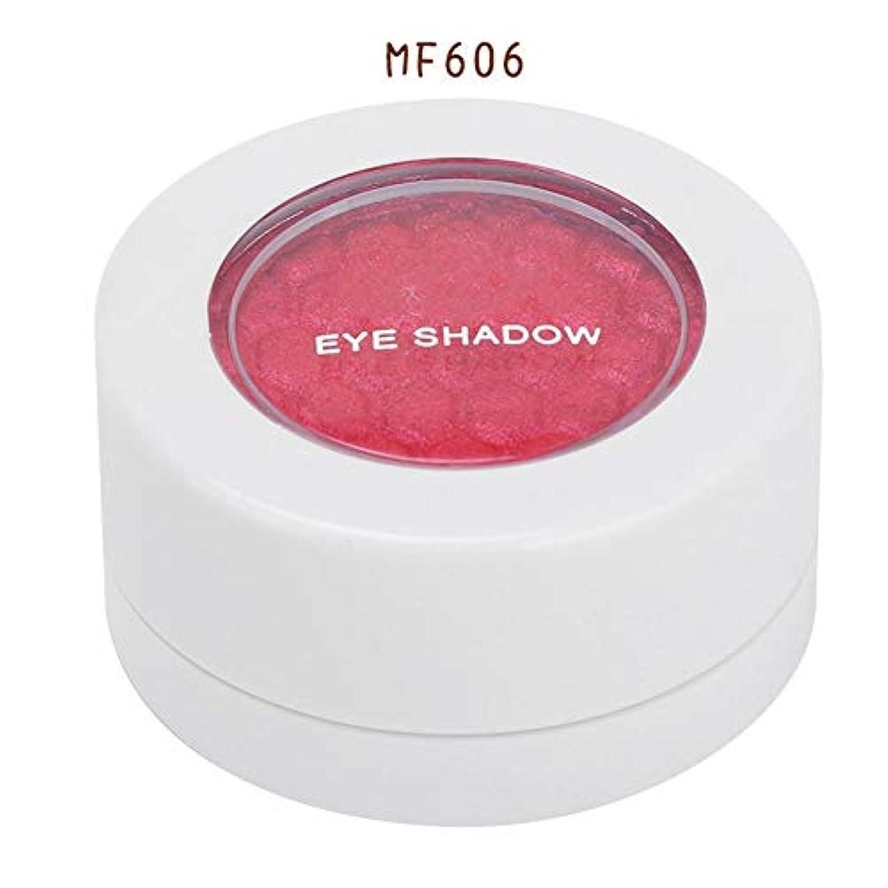 パウダー神秘絶えず4色 アイシャドウパレット アイシャドウパレット 化粧品ツール 化粧マットグロス アイシャドウパウダー (MF606)