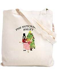 CafePress – Nutcracker & Clara – ナチュラルキャンバストートバッグ、布ショッピングバッグ S ベージュ 0426256275DECC2