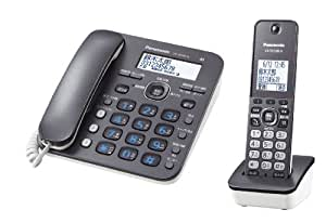 パナソニック デジタルコードレス電話機 子機1台付き 1.9GHz DECT準拠方式 ダークメタル VE-GD32DL-H